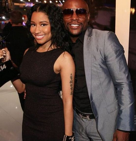 Floyd Mayweather and Nicki Minaj