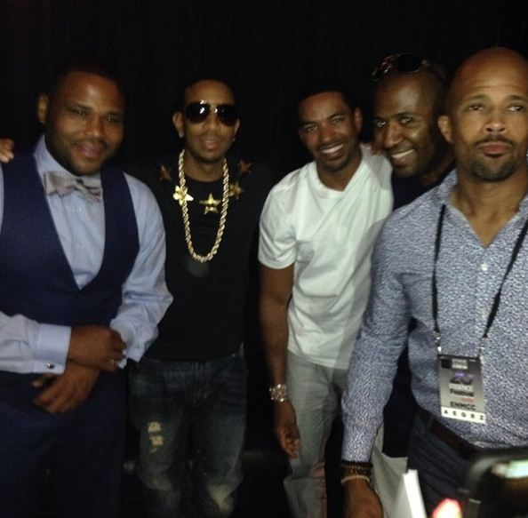 Laz Alonso, Anthony Anderson and Ludacris