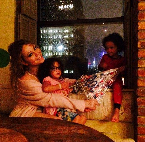 Mariah Carey and kids