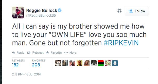 Reggie Bullock Brother