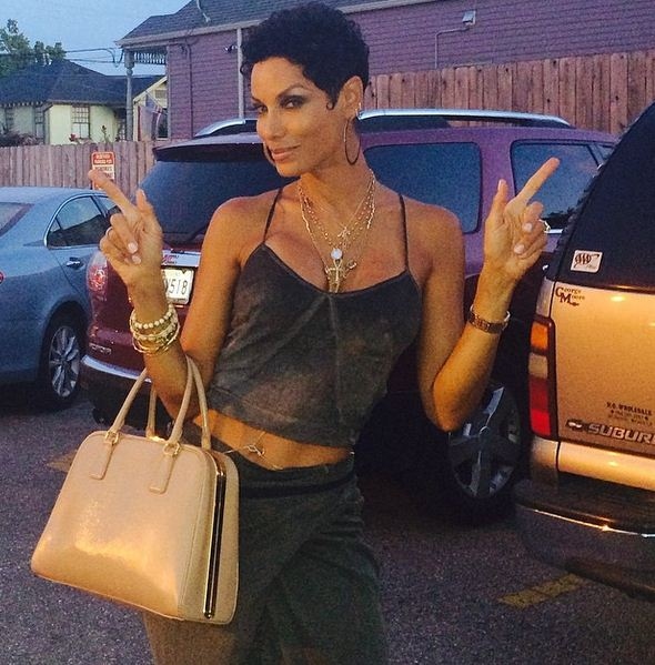 """Nicole Murphy, star of """"Hollywood Exes"""" is a fly 47."""