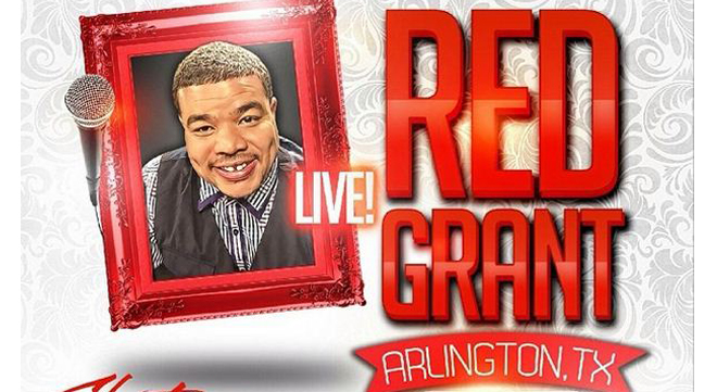 Comedian Rodney 'Red' Grant