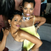 Malinda Williams and Vanessa Williams