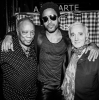 Quincy Jones, Lenny Kravitz, Charles Aznavour