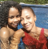 Holly Robinson Peete and her son