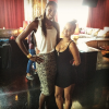 Lisa Leslie and Christina Milian