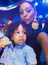 Tia Mowry and her son
