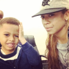 Keyshia Cole and her son