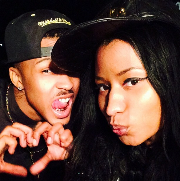 August Alsina and Nicki Minaj
