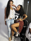 Mimi Faust and Tammy Rivera
