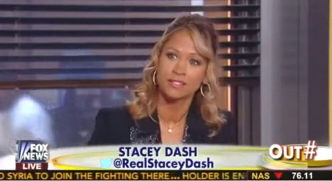 Stacey Dash supported Mitt Romney.