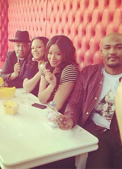 Vanessa Simmons and Mike Wayans