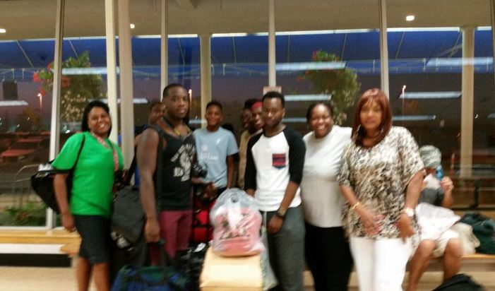"""P. Tyler wrote: """"Me and my family arrived at the Airport an hour ago. On our way to Gaylord """""""