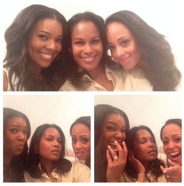 Gabrielle Union, Robinne Lee and Essence Atkins