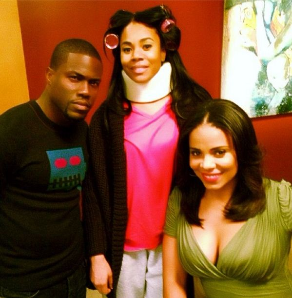 Kevin Hart, Regina Hall and Sanaa Lathan
