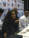 Porsha Williams signs autographs at the Allstate Tom Joyner Family Reunion.
