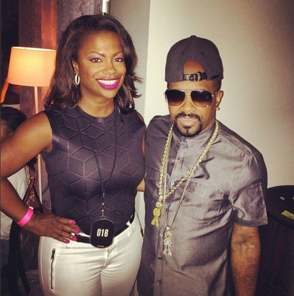 Kandi Burruss and Jermaine Dupri