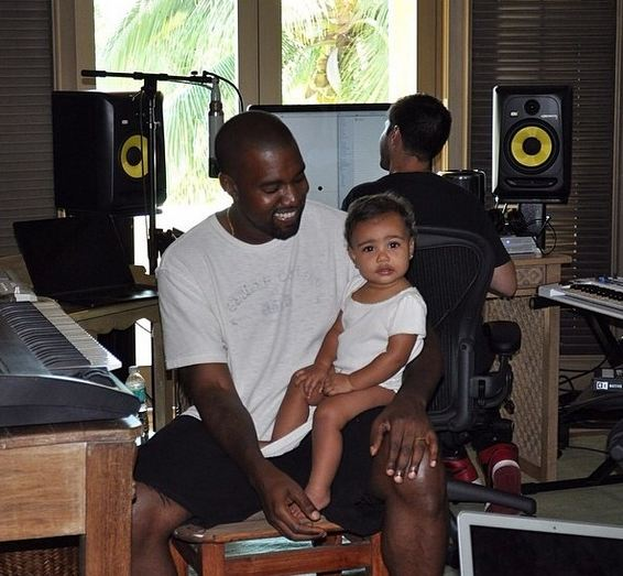 Kanye-West-North-West-Instagram