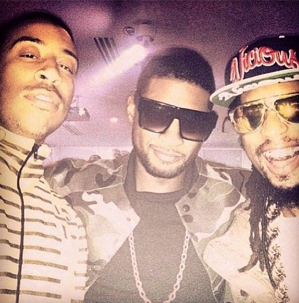 Ludacris, Usher and Lil' Jon