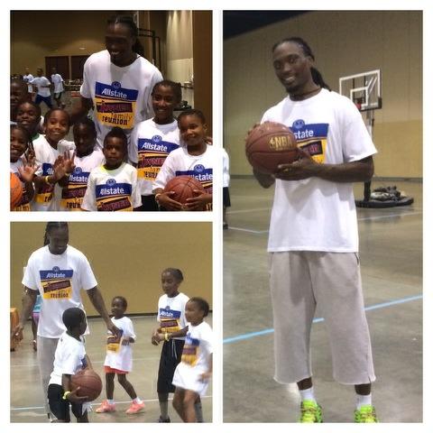 Marquis Daniels' SOL Q6 Foundation Basketball Clinic
