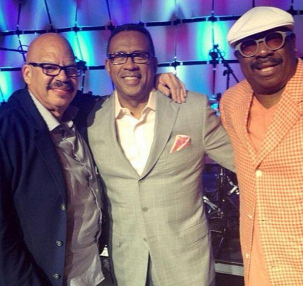 Tom Joyner, Michael Baisden and J. Anthony Brown at the 2014 Allstate Tom Joyner Family Reunion