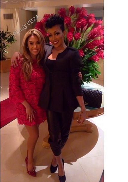 Monica Brown and Vanessa Bryant