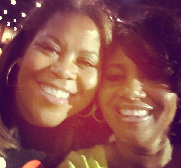 Sybil and a guest at the 2014 Allstate Tom Joyner Family Reunion