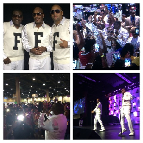 The Force M.D.'s perform at the Allstate Tom Joyner Family Reunion