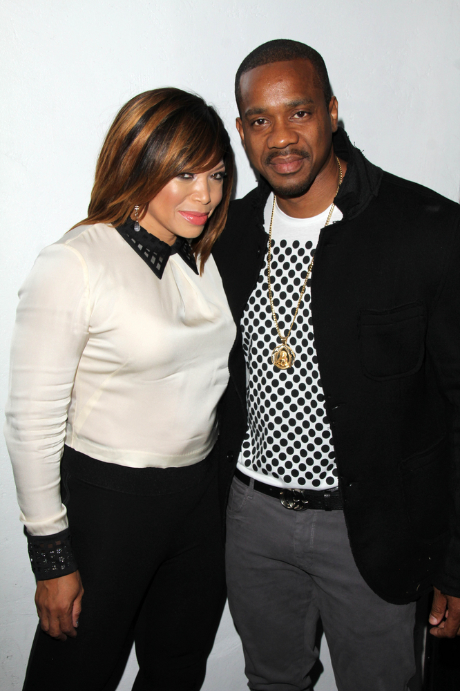 Duane and Tisha Campbell Martin