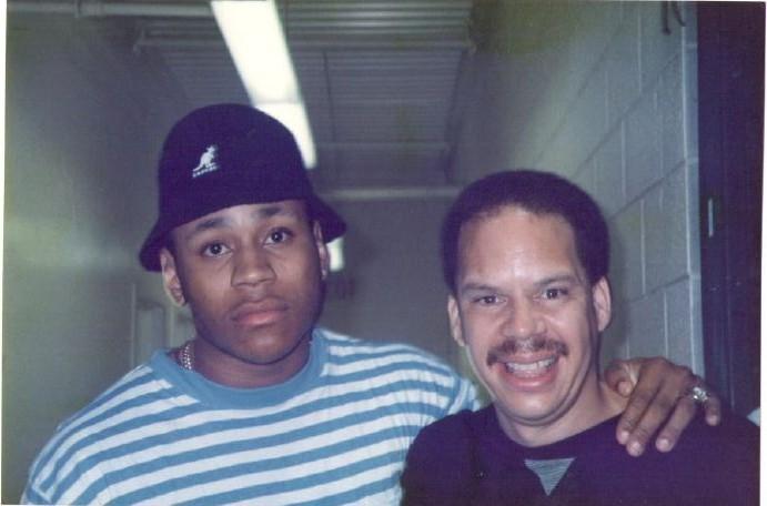 LL Cool J and Tom Joyner