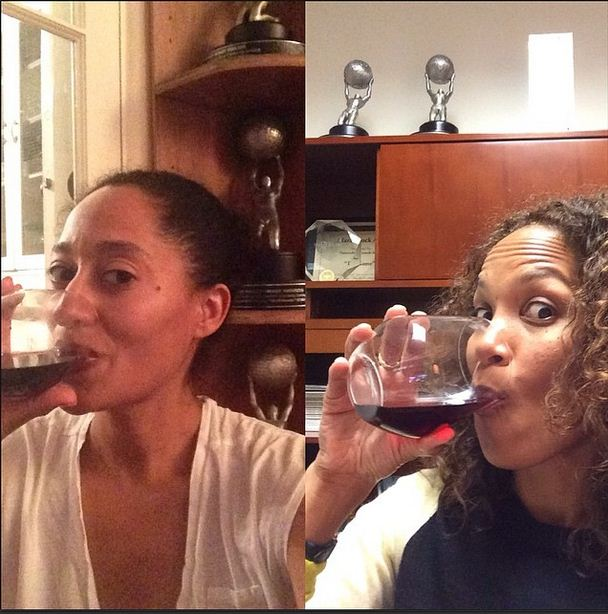 Tracee Ellis Ross and Mara Brock Akil