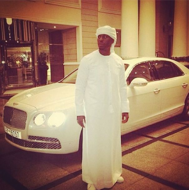 Tyrese visits Dubai