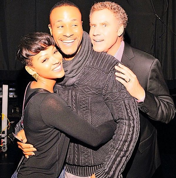 Meagan Good and Will Ferrell