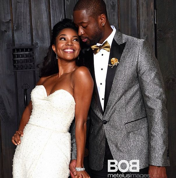 Gabrielle and Dwayne Wade