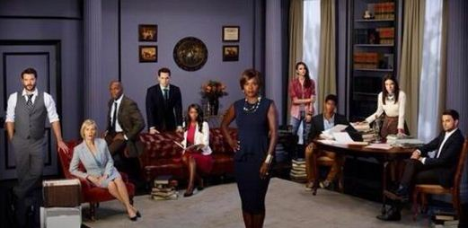 The cast of 'How To Get Away With Murder'