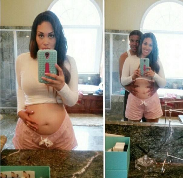 KeKe-Wyatt-8th-Pregnancy