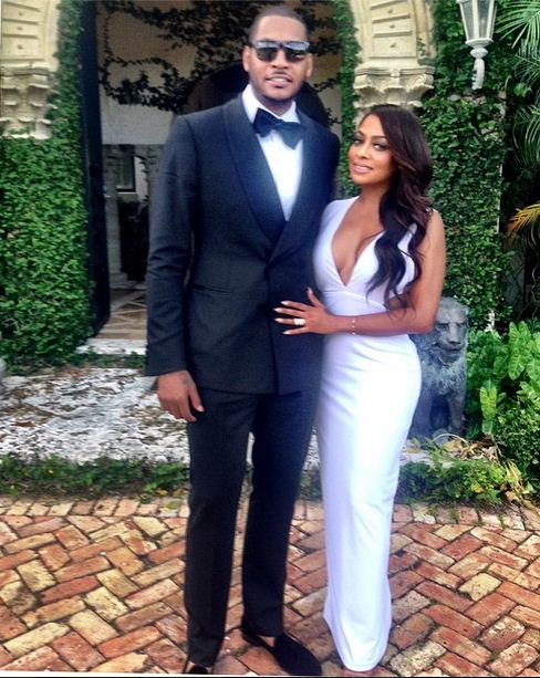 Lala is married to NY Knicks player Carmelo Anthony