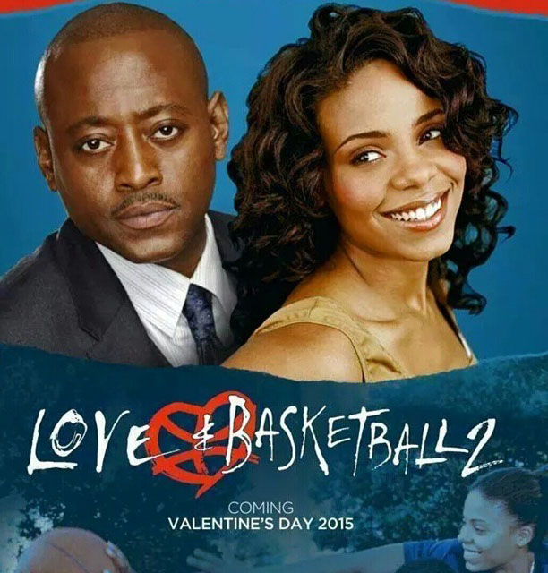Monica Wright and Quincy McCall in 'Love & Basketball'