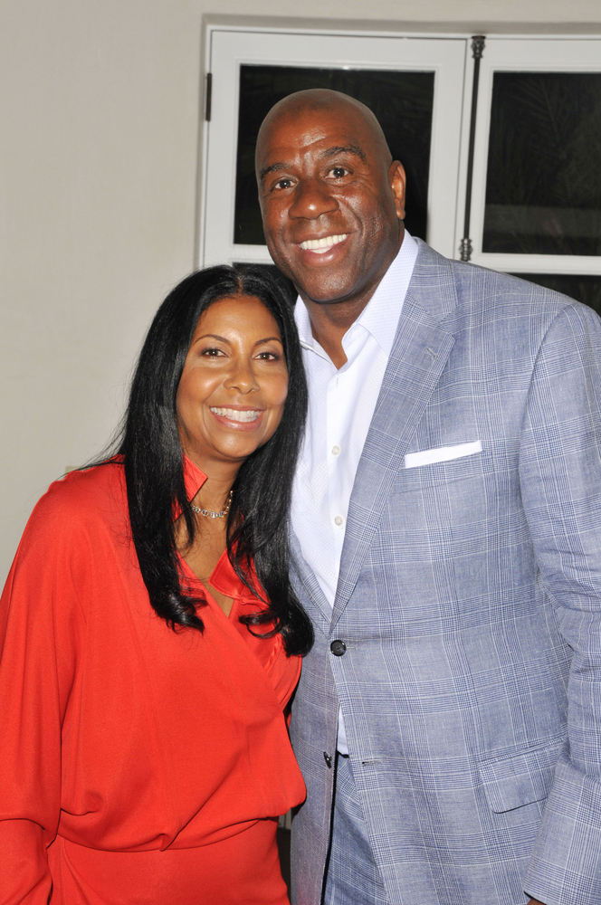 Cookie is married to NBA veteran Magic Johnson