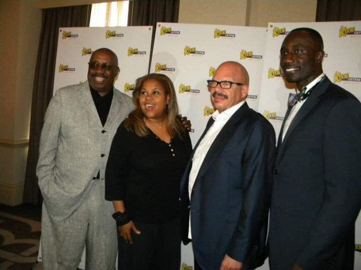 Tom, Sybil and J. Anthony Brown with the Mayor Tony Yarber of Jackson, MS.