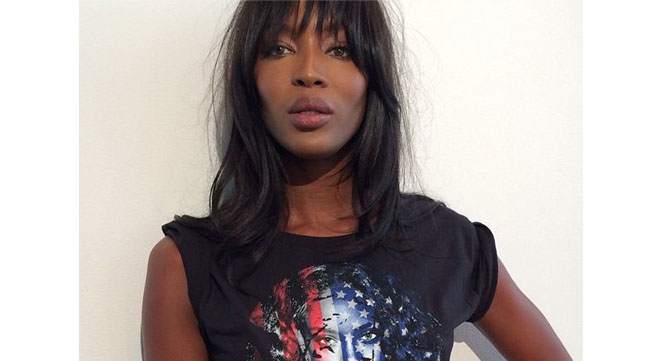 Naomi Campbell is 44.