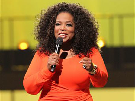 Media mogul Oprah Winfrey was abused by a relative at age 9.