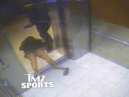 Elevator Gate: Ray and Janay Palmer-Rice