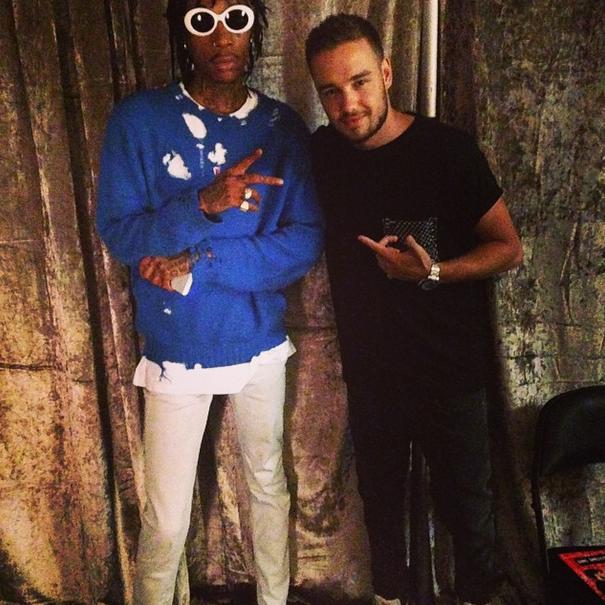 Wiz Khalifa and Liam Payne of One Direction