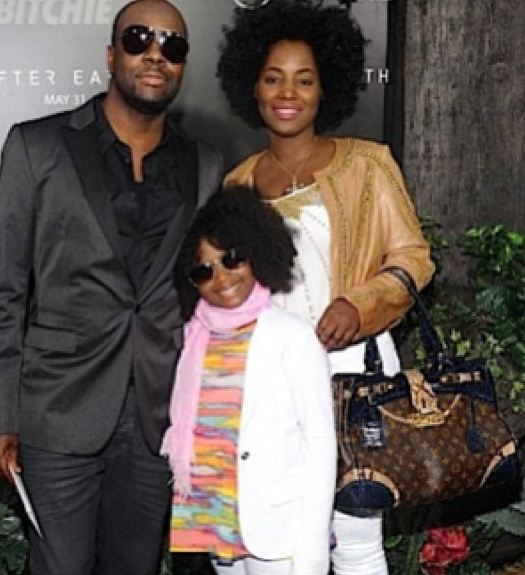 Wyclef Jean and Claudette