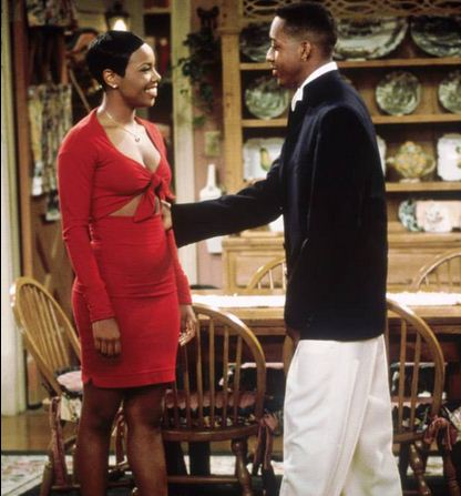 Laura Winslow and Stephan Urkel on 'Family Matters'