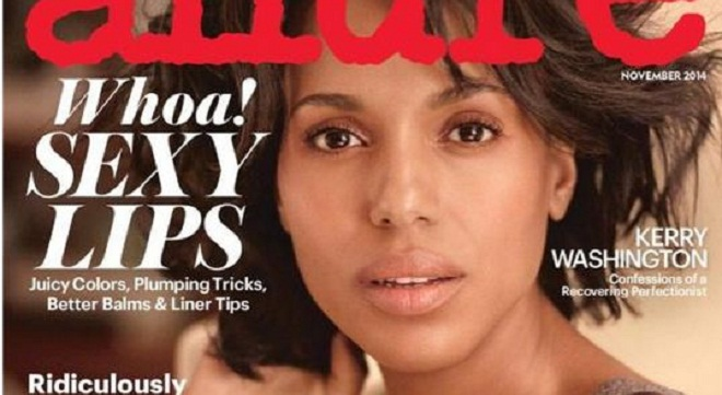 Kerry Washington Dares To Go Bare For 'Allure' Cover & Looks Perfect [PHOTO]