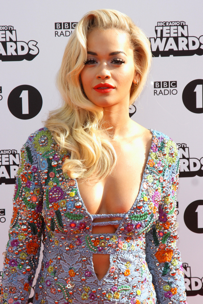 Rita Ora has been a blonde since we first met her a few years ago…