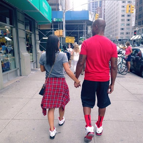 Tank and his fiance Zena Foster