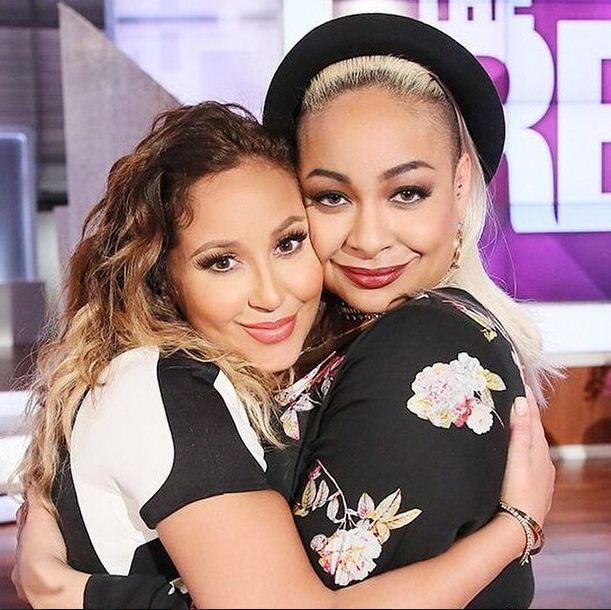Raven Symone and Adrienne Bailon